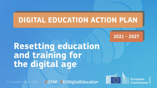 The European Commission adopts a new Digital Education Action Plan (2021-2027)
