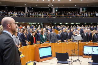 The European Parliament commemorates the victims of the Holocaust together with Religious Representa