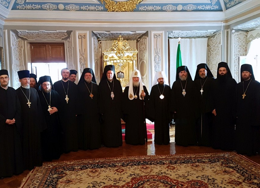 Meeting HH Patriarch Cyril