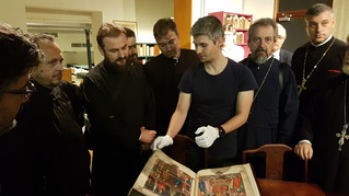 Deans of the faculties of theology in Romania, on a visit to Brussels and Leuven