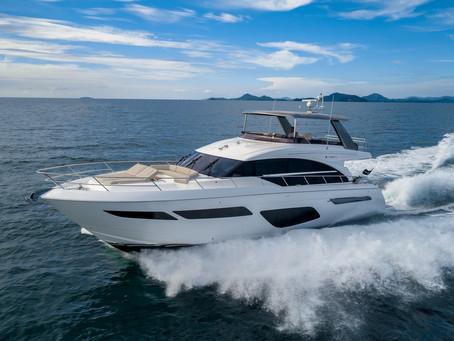 Månedens båt - Princess F70