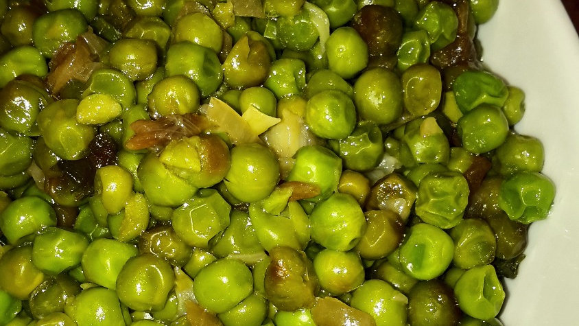 Oven Roasted Peas - Individual portion