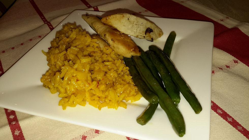 Chicken & Saffron Rice-Child