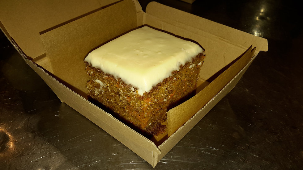 Carrot Cake with Cream Cheese Frosting - Child
