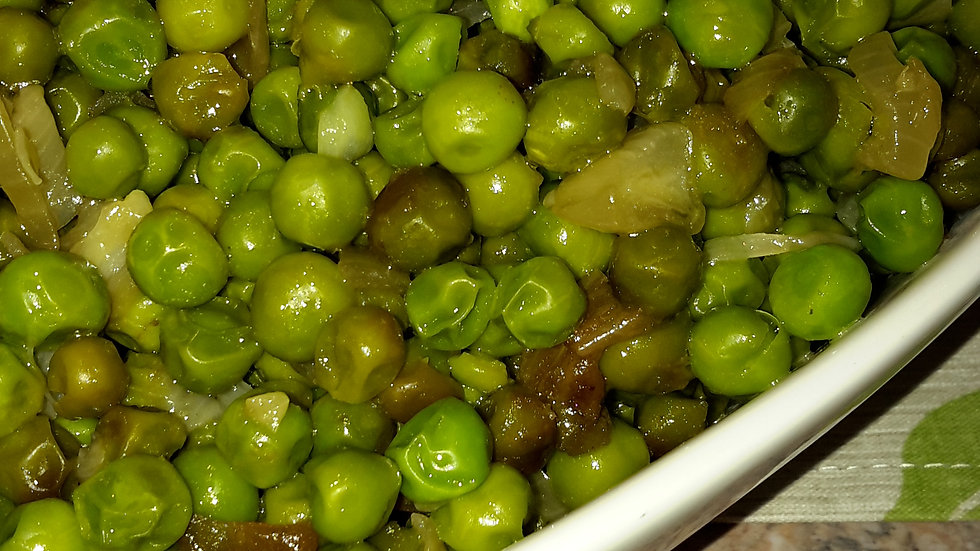 Oven Roasted Peas