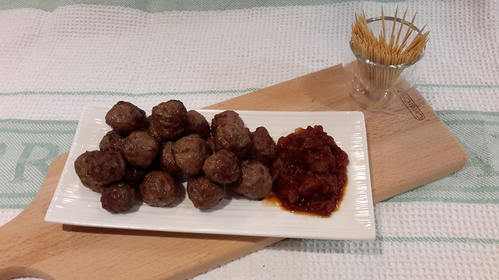 Mini beef balls