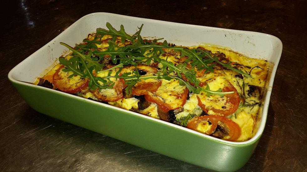 Roasted vegetable & ricotta stack-Child