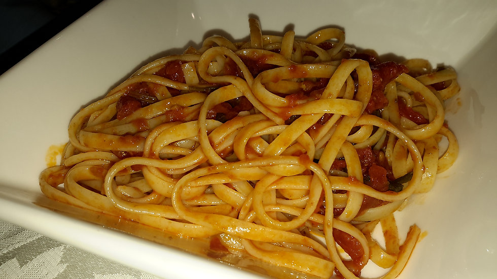 Spaghetti Puttanesca-Adult