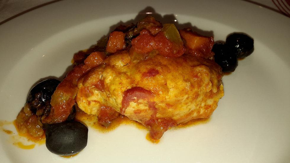 Chicken Cacciatore: Adult