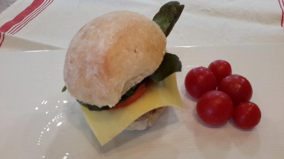 Homemade Beef Burger-Child