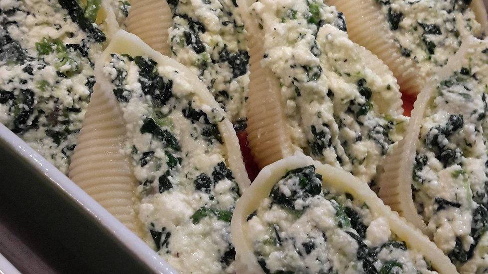 Spinach & Ricotta Filled Pasta - Child