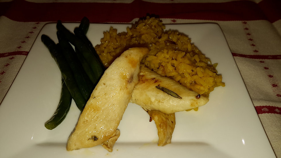 Chicken & Saffron Rice-Adult