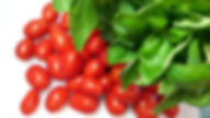Farm fresh tomatoes and basil