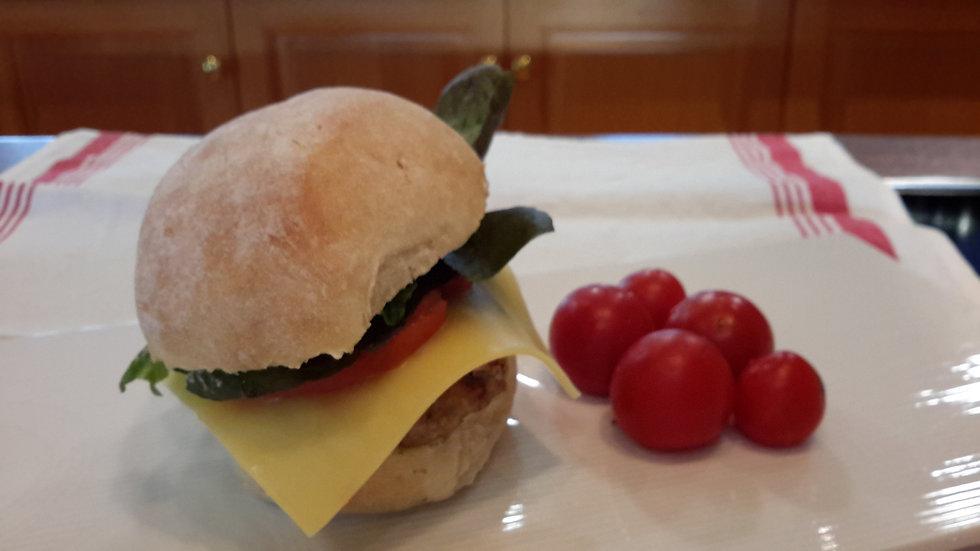 Homemade Beef Burger-Adult