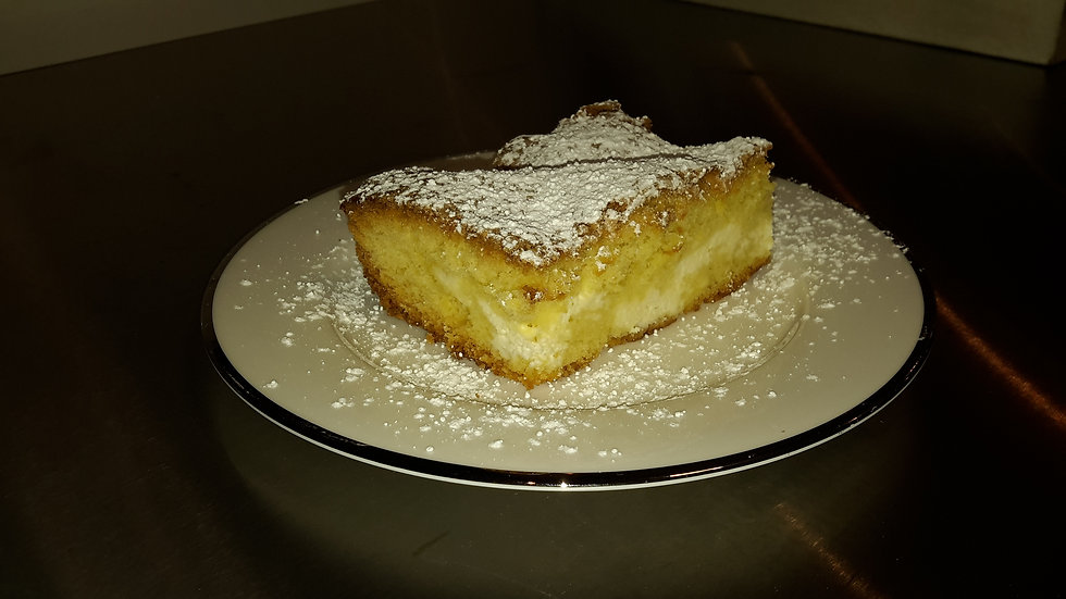 Ricotta Filled Sponge Cake - Adult