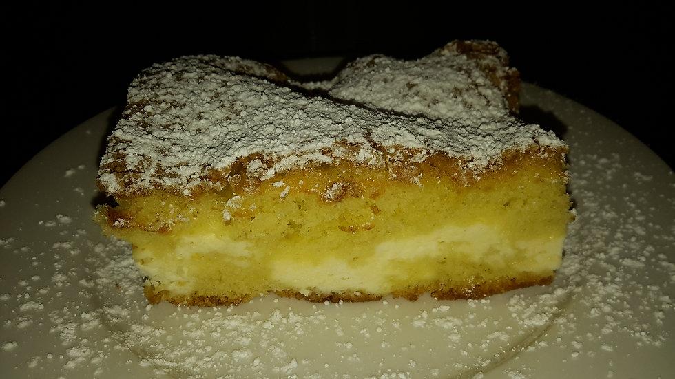 Ricotta filled sponge cake - Individual portion