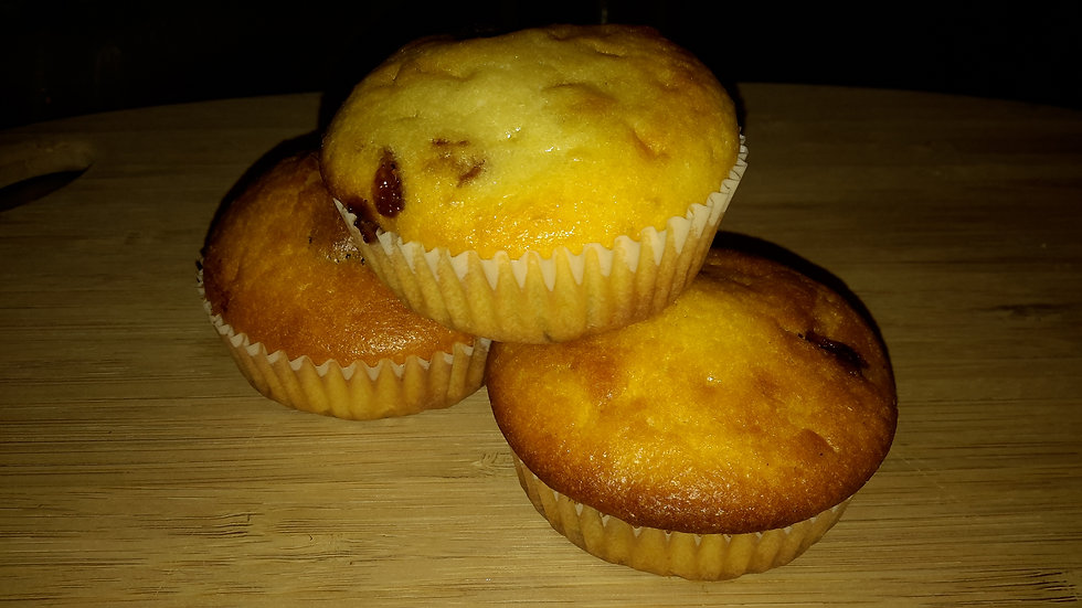 Sultana Filled Cupcakes