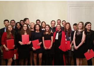 Les étudiants de la promotion Tirole 2015 sont diplômés