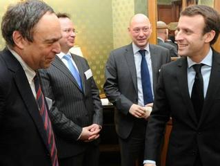 Bernard Coupez, professeur au sein du Master, a rencontré Emmanuel Macron !