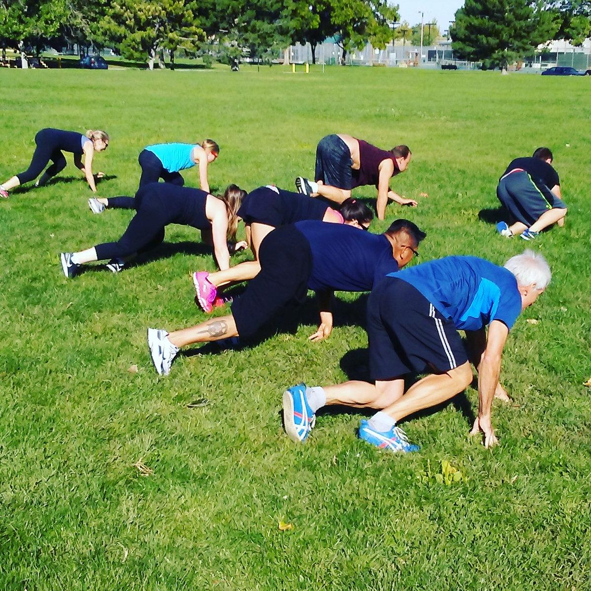 Roadrunner Fitness Outdoor Boot Camp
