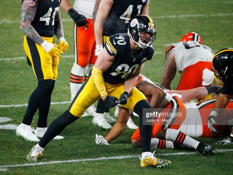 Pro Football Focus ranks the Steelers' defensive line No. 1 in the NFL