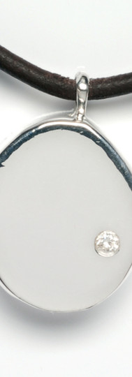 SILVER DIAMOND CIRCLE