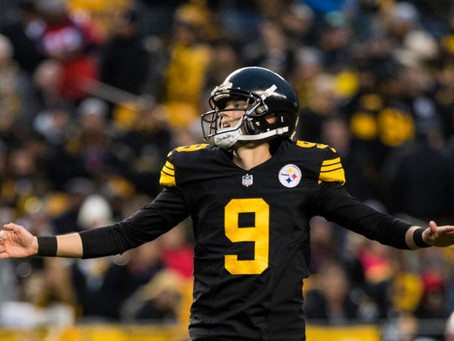 Chris Boswell Doubtful for Monday's Game Against Washington
