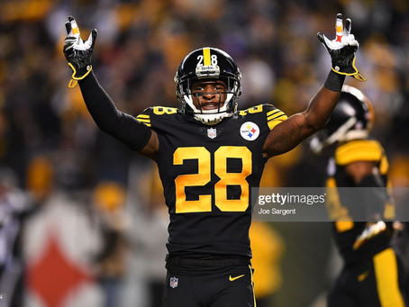 Mike Hilton has been named AFC Defensive Player of the Week