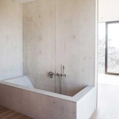 Beton a fürdőszobában