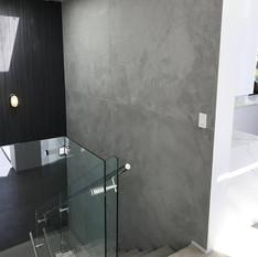 Lépcsőház betonból