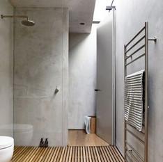 Beton fürdőszoba