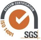 A gyártó, az Ecobeton Italy Srl ISO 14001 rendszertanúsítvánnyal rendelkezik.