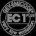 A burkolat védelmét szolgáló impregnálószereink a GEV-EMICODE szerint az EC1 PLUS kategóriába sorolhatók, azaz a lehető legalacsonyabb emissziós tartalmú termékek.