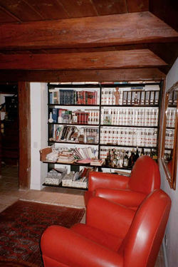 closet to library