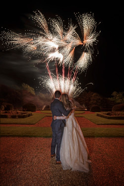Fireworks at Wroxhall Abbey