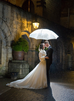 Wedding Brolly shot