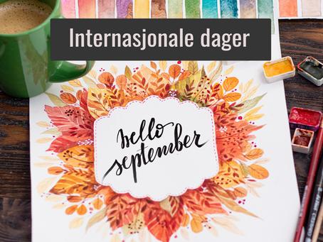 Internasjonale dager i september