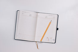 open diary and pencil jeshoots-com-46228