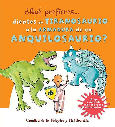 QP Dientes D Tiranosaurio O Armadura Anq
