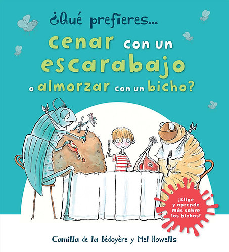 QP Cenar Con Escarabajo O Almorzar Bicho