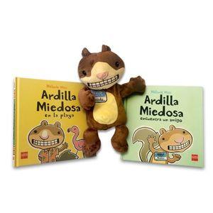 Ardilla(Un Amigo-en La Playa-Titere)Pack
