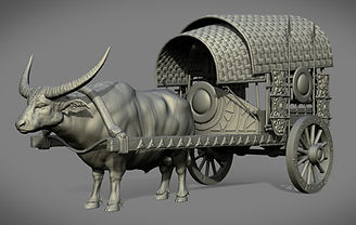 Carabao and Cart