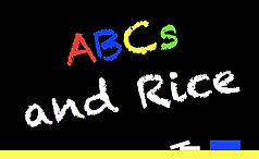 ABCs and Rice Logo