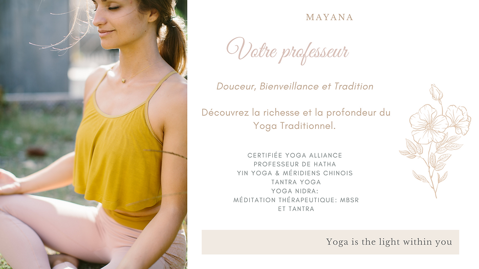 Cream, Grey and White Yoga Wellness and