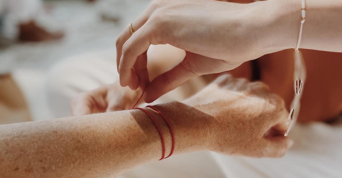 le bracelet aux voeux