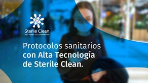 Sterile Clean   Protocolos sanitarios con Alta Tecnología   Servicios de desinfección