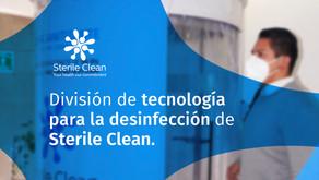 Sterile Clean - División de Tecnología para la Desinfección.