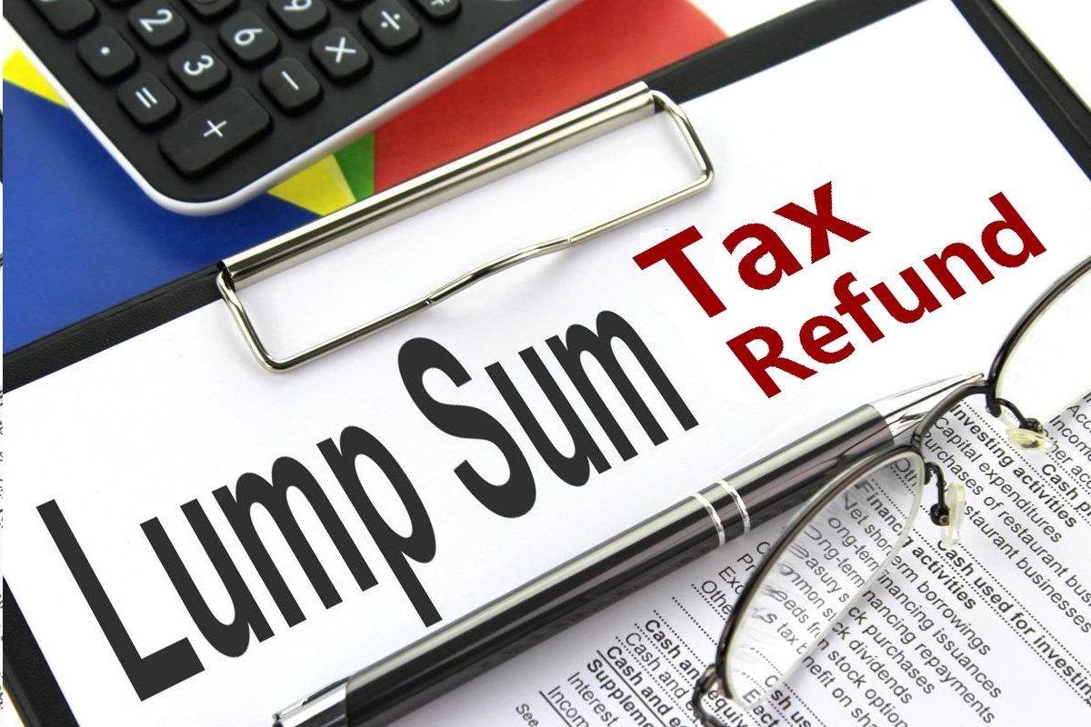 Lump-Sum Tax Refund