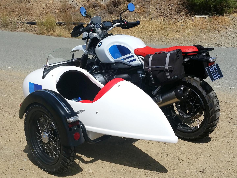 Gusto Motorbikes_BMW RnineT Urban G/S Sidecar Combination