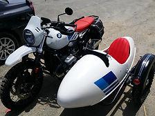 Gusto Motorbikes_BMW RnineT Urban G/S_bespoke sidecar build_2018_Left hand fitting